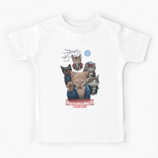 Strange Fur Things Kids T-Shirt