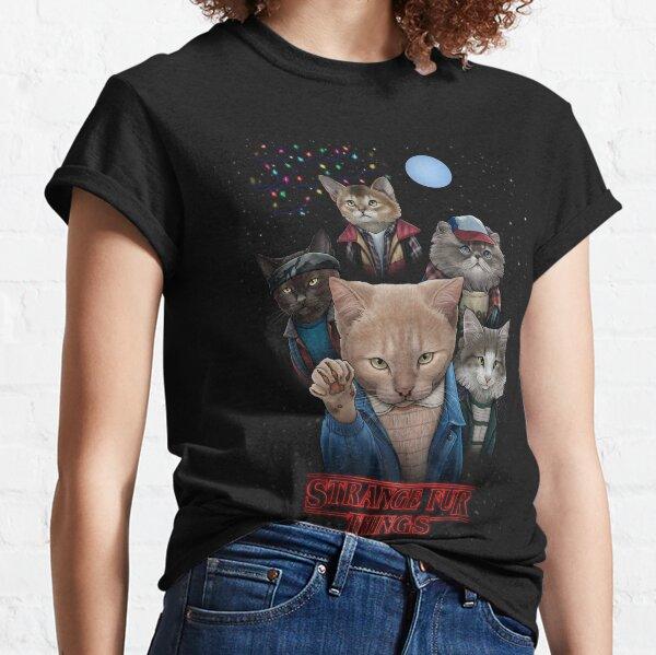 Cosas extrañas de piel Camiseta clásica