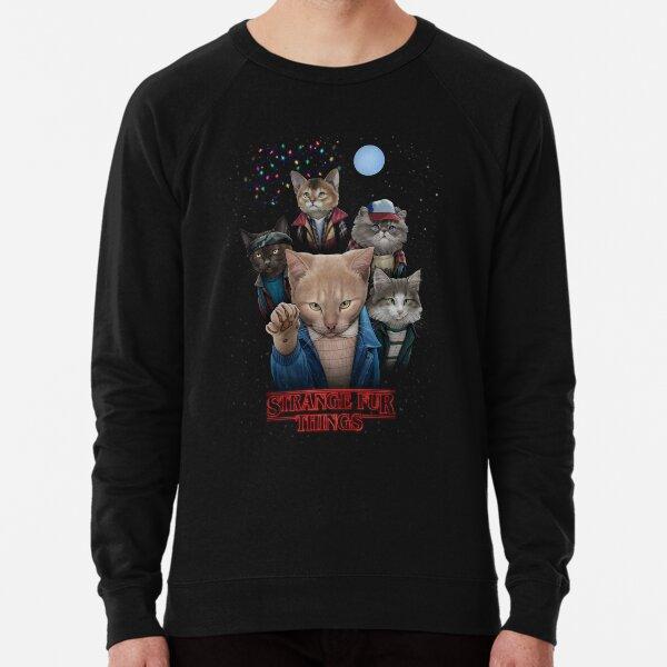 Choses étranges de fourrure Sweatshirt léger