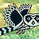 Pueo the Protector Hawaiian Owl by chongolio