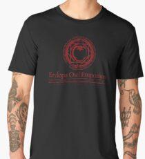 Owl Emporium Logo (red) Men's Premium T-Shirt