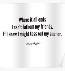 Jimmy Buffett - Son of a Sailor Poster