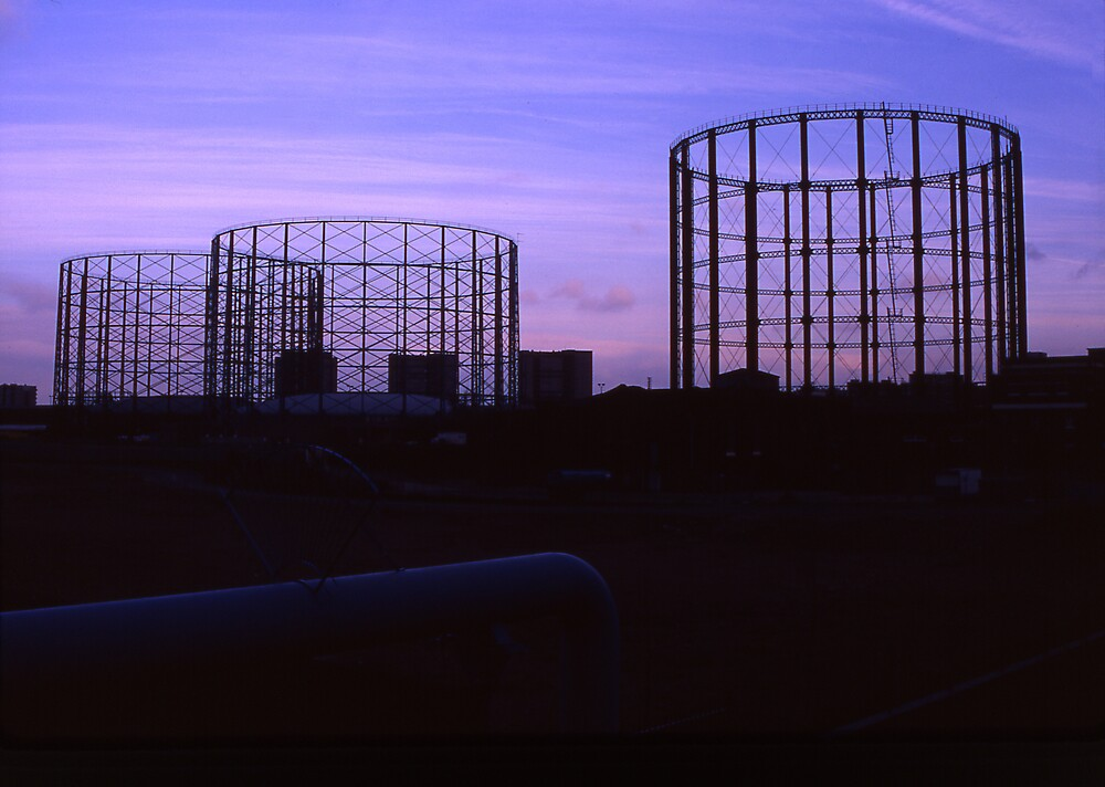 'Down by the Gasworks' by Mike O'Brien
