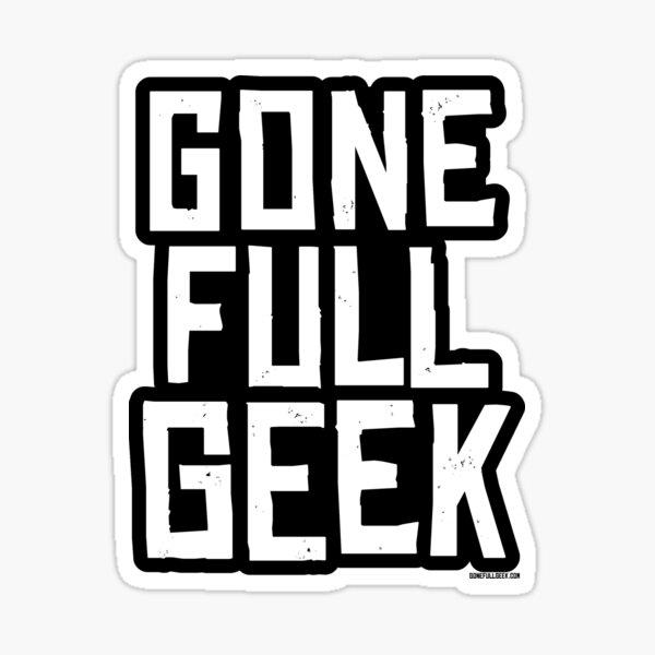 "GoneFullGeek ""Red Dead"" Stacked Sticker"