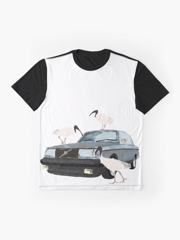 Alternative Ansicht von Aussie Hood Ratte Grafik T-Shirt