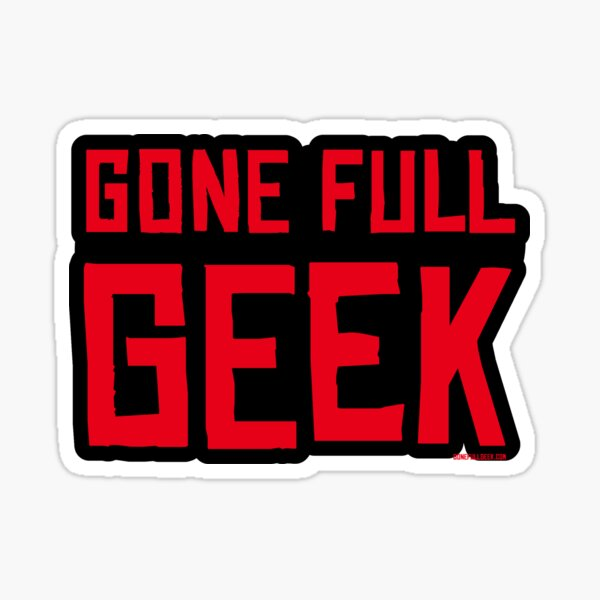 "GoneFullGeek ""RDR Dead"" Sticker"