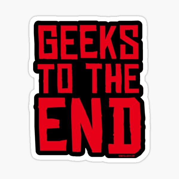 """GoneFullGeek """"RDR To The End"""" Sticker"""