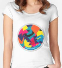 Vintage 90s Retro Pog Women's Fitted Scoop T-Shirt