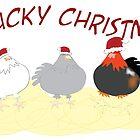 Clucky Christmas by Diana-Lee Saville