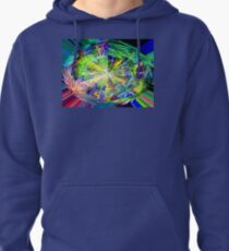 Kaleidoscope, below the rainforest. 2 Pullover Hoodie