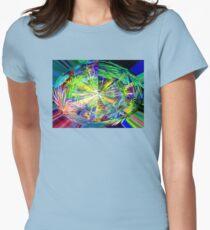 Kaleidoscope, below the rainforest. 2 Women's Fitted T-Shirt