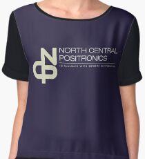 North Central Positronics Women's Chiffon Top