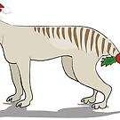 Thylacine Christmas by Diana-Lee Saville