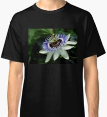 Blue Crown Passion Flower Classic T-Shirt