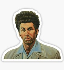 Cosmo Kramer - Seinfeld Sticker
