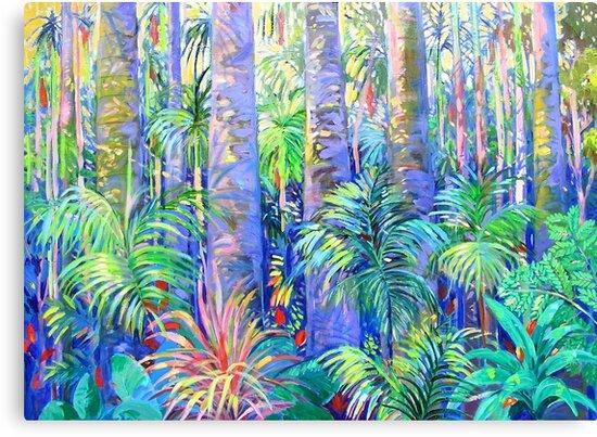 Rainforest Tamborine Mountain #1 by Virginia McGowan