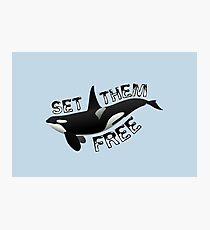 """Set Them Free"" Photographic Print"