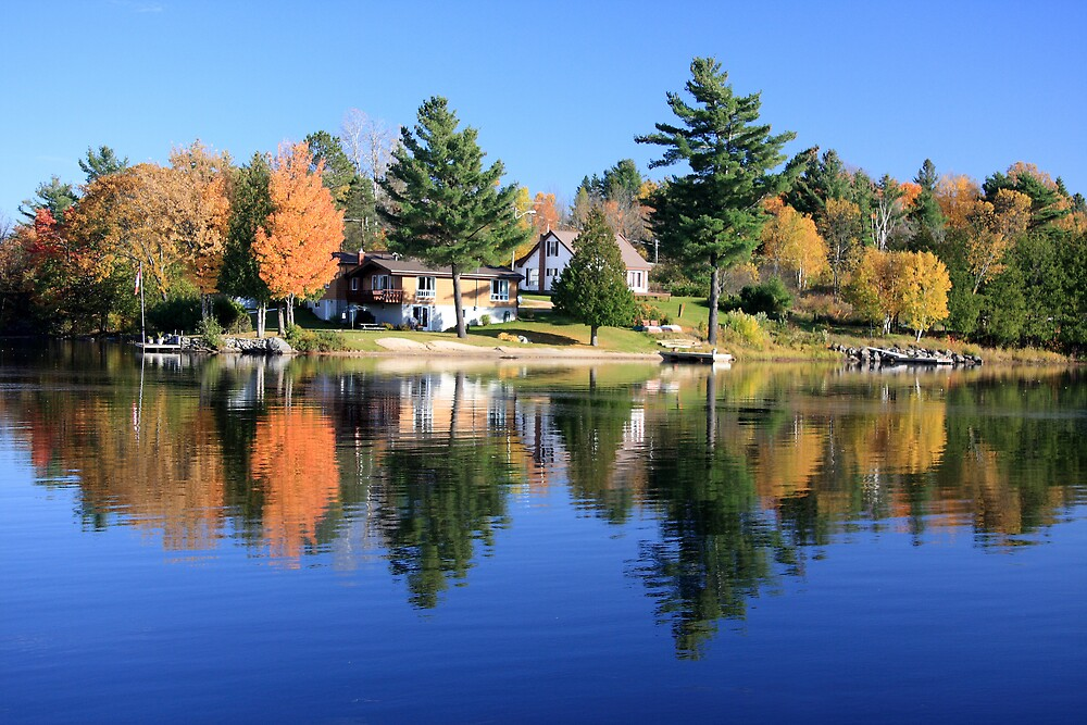 Magnetawan Reflections by Dave Law