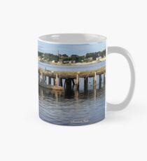 Fishing Boat on the Thames River Mug