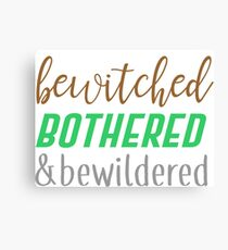 buffy - bewitched, bothered & bewildered Canvas Print