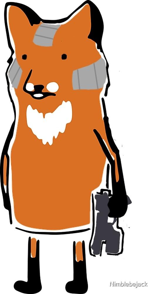 Fox Just Chillin' by Nimblebejack