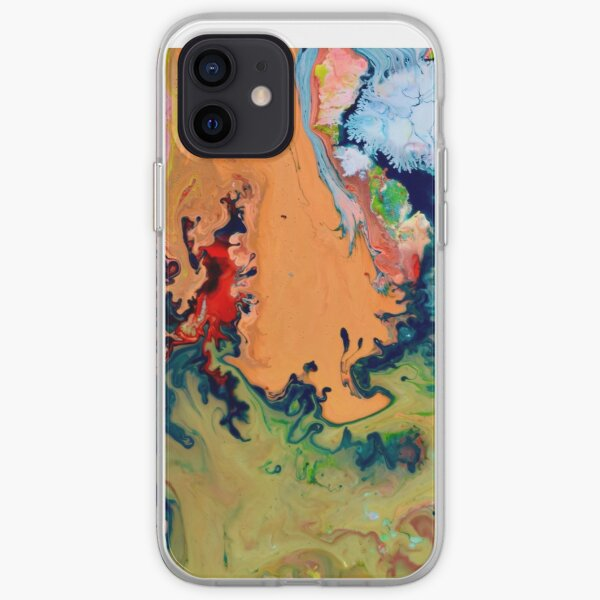 Magie abstraite 9 iPhone Soft Case