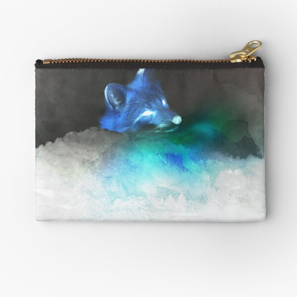Inverted—Fox Upon a Time Zipper Pouch