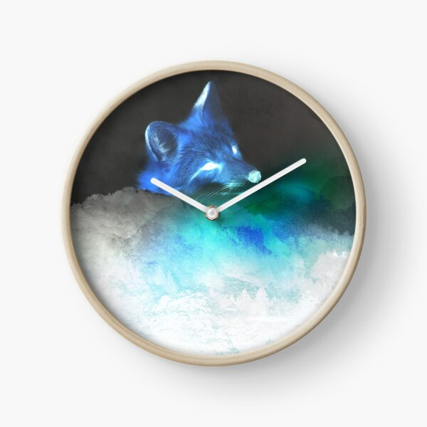 Inverted—Fox Upon a Time Clock