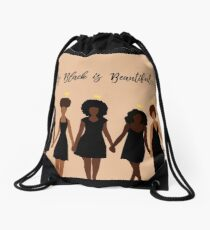 My Black is Beautiful Drawstring Bag