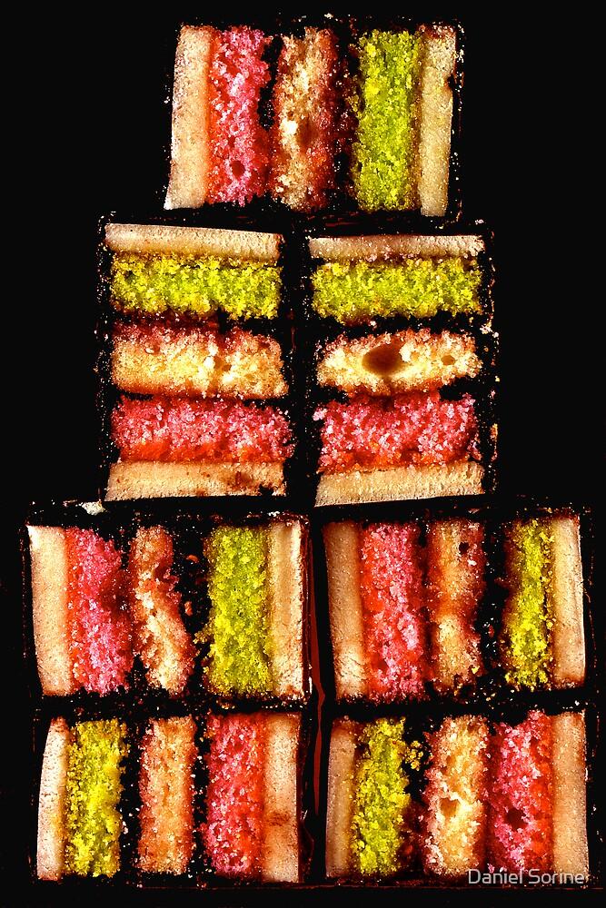 Rainbow cookies by Daniel Sorine