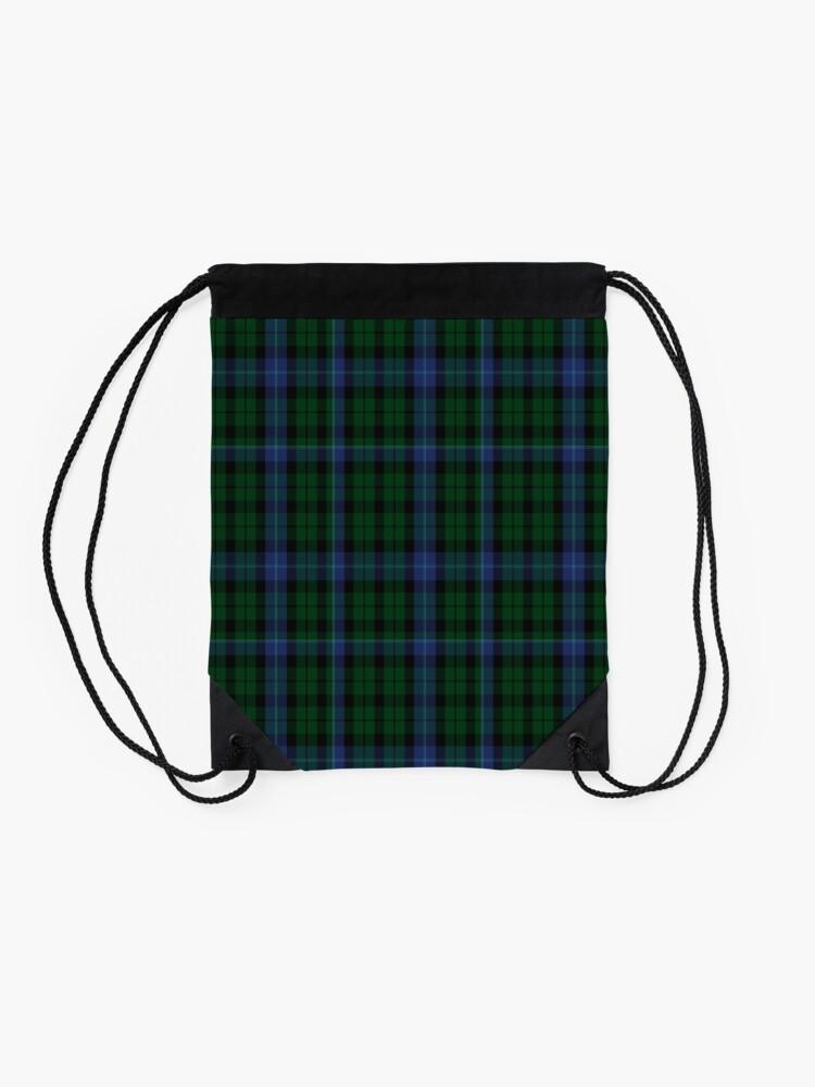 Alternate view of 00092 MacIntyre Clan/Family Tartan  Drawstring Bag