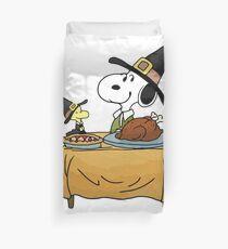 Thanksgiving Snoopy Duvet Cover