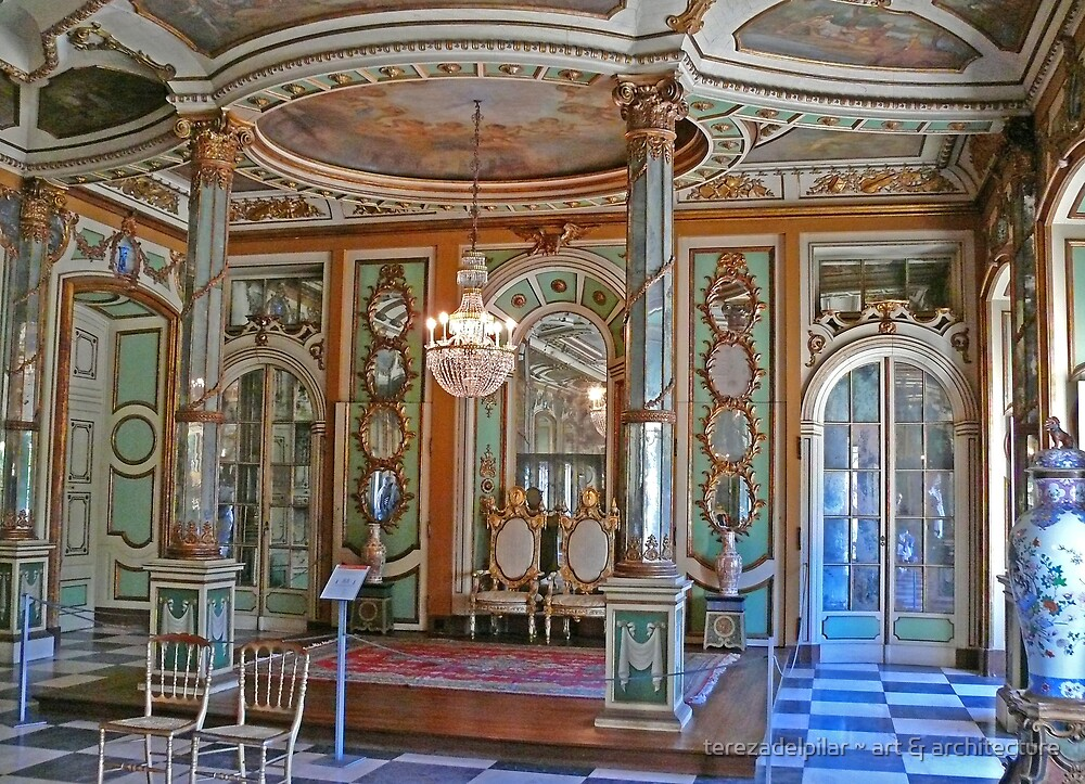 Queluz Palace. The King's Reception Hall by terezadelpilar ~ art & architecture