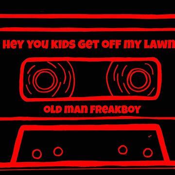 heykidsGOML Cassette Tape Logo by OldManFreakboy