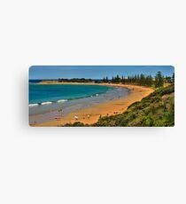 Cosy Corner, Torquay Front Beach, Victoria, Australia Canvas Print