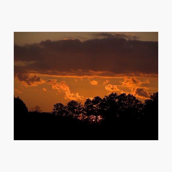 Carnival Sunset Photographic Print