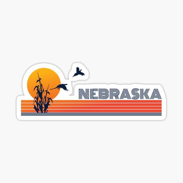 Vintage Nebraska Sticker