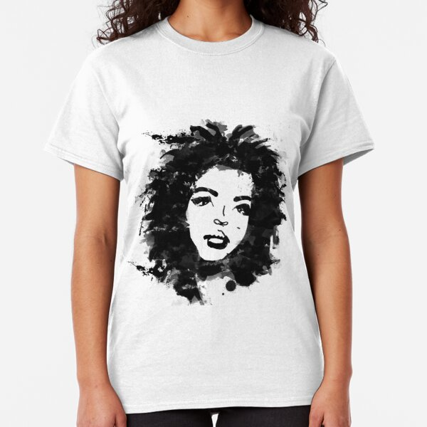 Lauryn Hill (monochrome) Classic T-Shirt