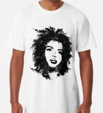 Lauryn Hill (monochrome) Long T-Shirt