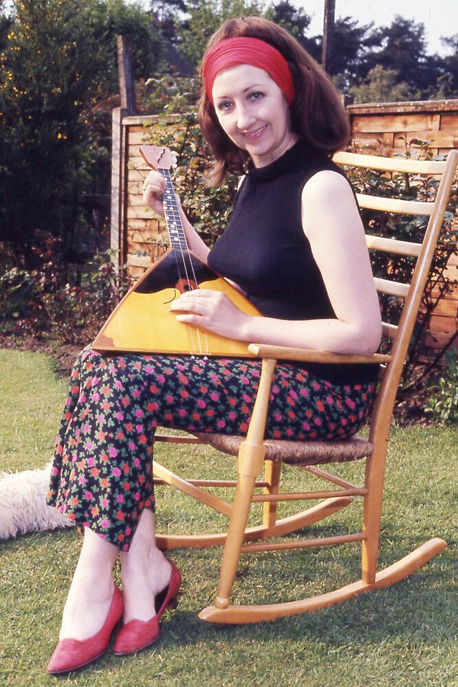 My old rocking chair by MayWebb