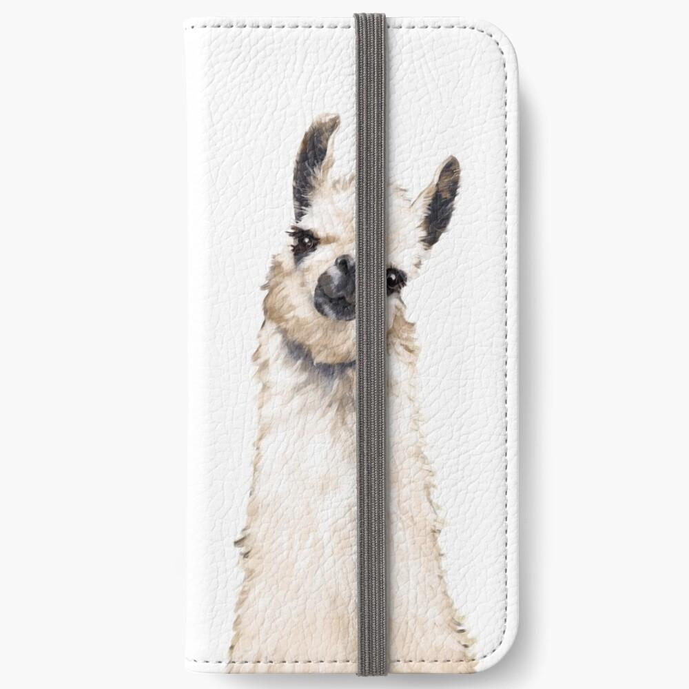 Llama iPhone Wallet