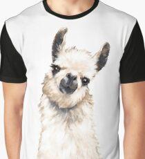 Llama Graphic T-Shirt