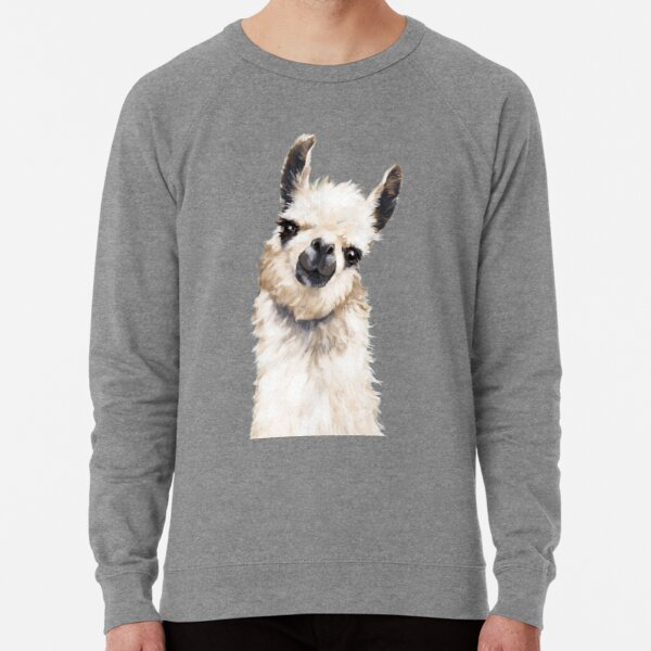 Llama Lightweight Sweatshirt