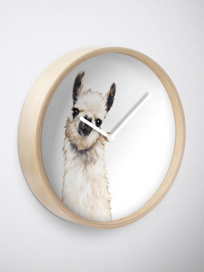 Alternate view of Llama Clock