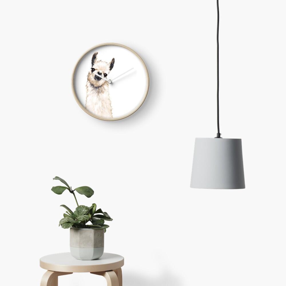 Llama Clock