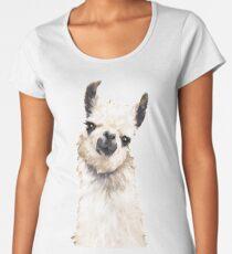 Llama Women's Premium T-Shirt