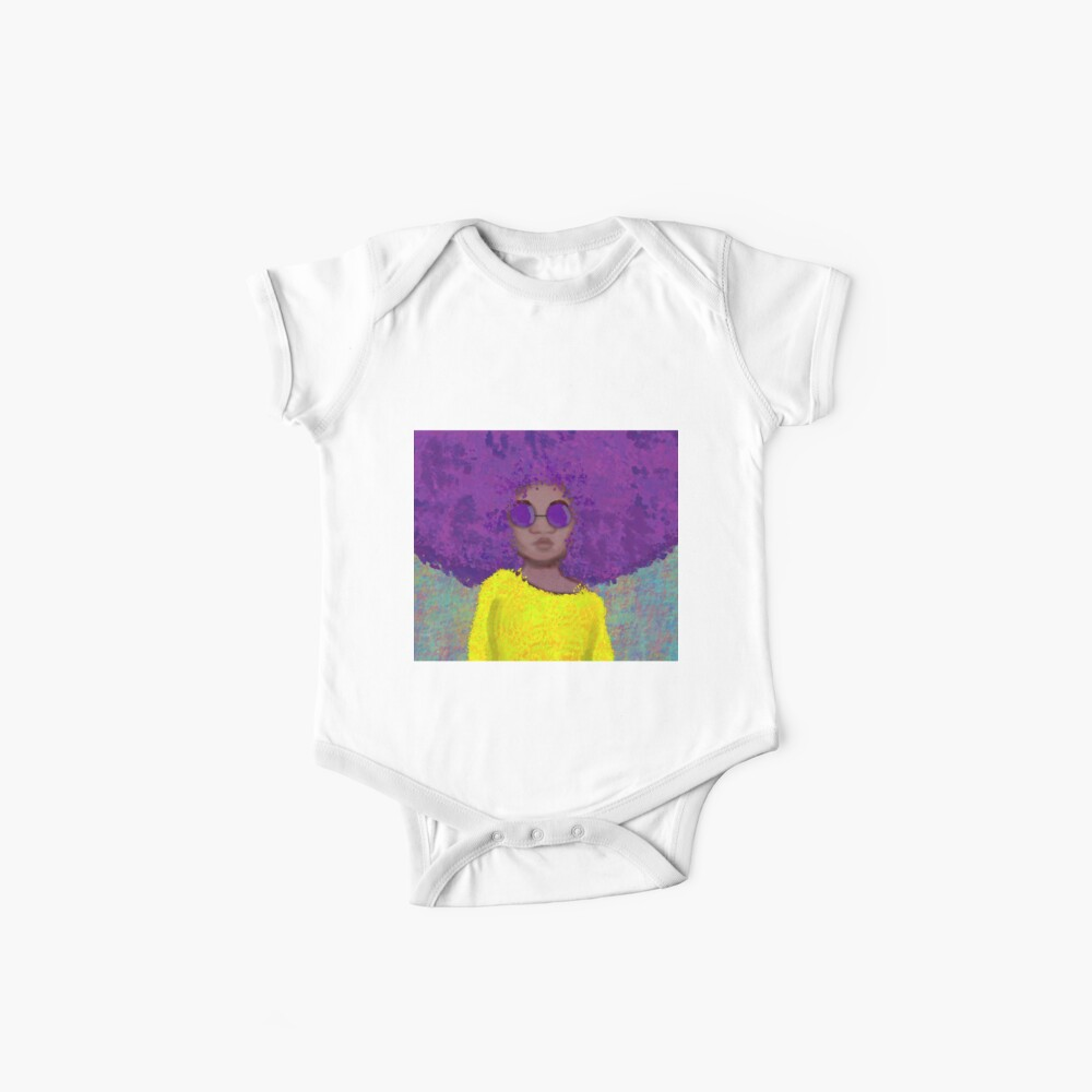 Afro Chic Afro Chick Baby One-Piece