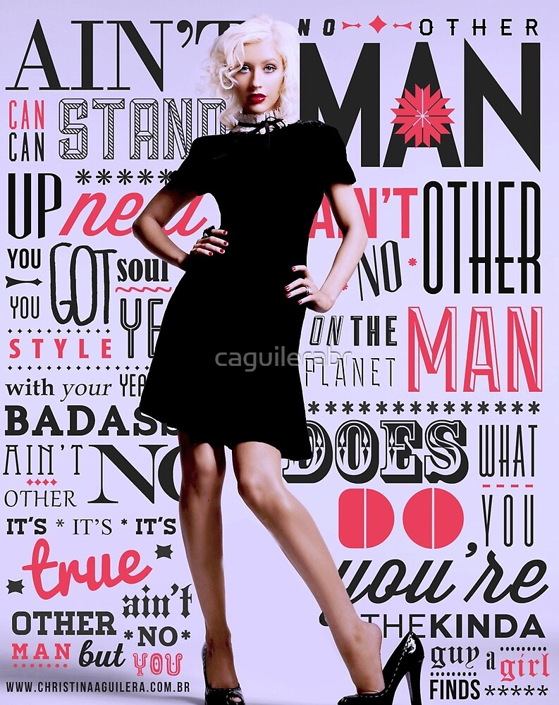 Ain't No Other Man - Xtina by caguilerabr