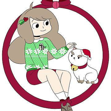 Bee and Puppycat's christmas by Jemma-the-human