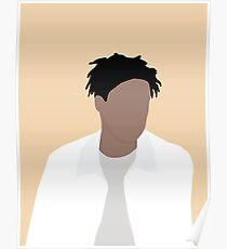 Daniel Caesar Vector Art Poster